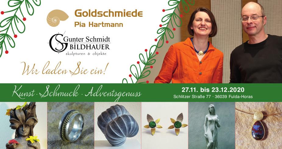 Kunst~Schmuck~Adventsgenuss 2020